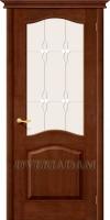 Межкомнатная дверь из Массива СОСНЫ М7  ПО темный лак