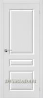 Межкомнатная дверь с ПВХ-пленкой Статус-14 ПГ Белый