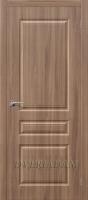 Межкомнатная дверь с ПВХ-пленкой Статус-14 ПГ Шимо Темный