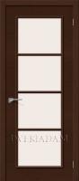 Межкомнатная шпонированная дверь Евро-41 ПО Венге