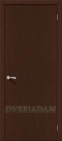 Межкомнатная шпонированная дверь Евро В-0 ПГ Венге