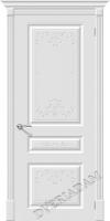 Межкомнатная окрашенная дверь Скинни-14 ART Whitey