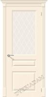 Межкомнатная окрашенная дверь Скинни-15.1 Cream