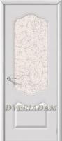 Межкомнатная эмалированная дверь Филадельфия ПО Белый