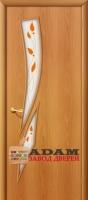 Межкомнатная ламинированная дверь 4с8п миланский орех (8 П)