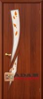 Межкомнатная ламинированная дверь 4С8п итальянский орех (8 П)