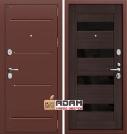 Входная дверь GROFF Т2-223 Wenge Veralinga/Black Star (95мм) (серия Technics)